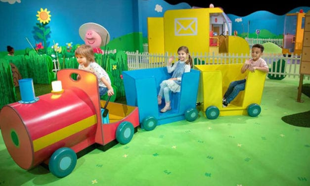Explore the New Peppa Pig World of Play at Grapevine Mills