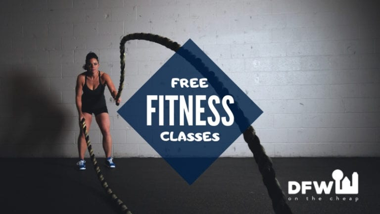 free fitness classes in dallas-fort worth