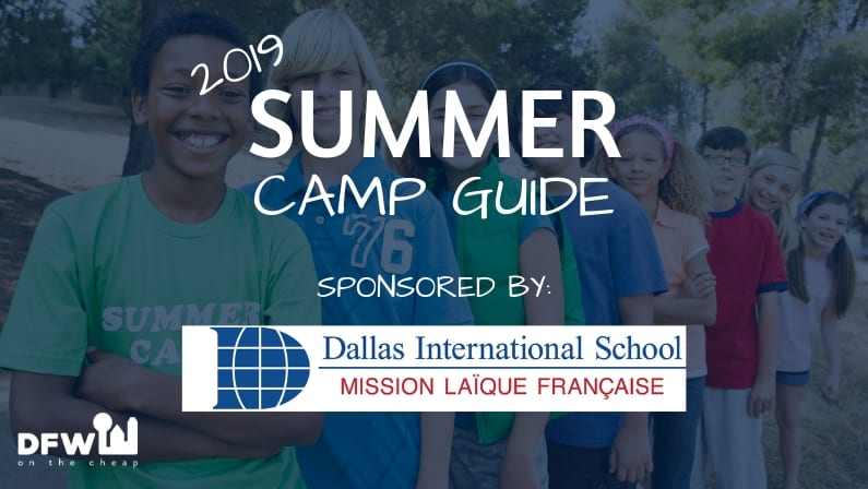 2019 summer camp guide Dallas-Fort Worth