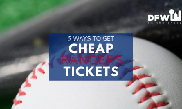 5 Ways to Get Cheap Texas Rangers Tickets This Season