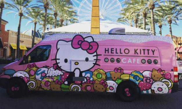 The Hello Kitty Cafe Truck is Returning to DFW for Two Weeks Only