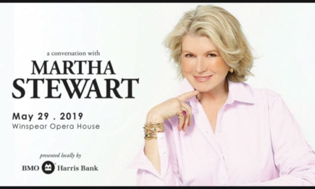 See A Conversation with Martha Stewart at the Winspear Opera House