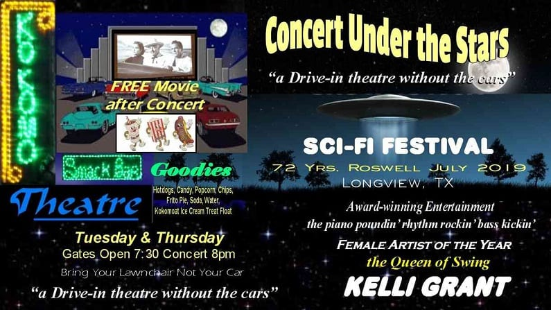 Celebrate UFOs with a $7.50 Sci-Fi Concert & Movie during July