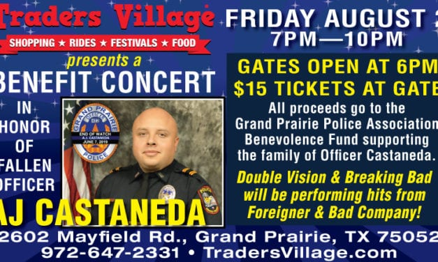 Help Support a Good Cause at the Officer AJ Castaneda Benefit Concert This Weekend