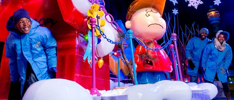 See ICE! Featuring A Charlie Brown Christmas for 33% Off
