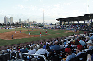 Fort Worth Cats Exhibition Game
