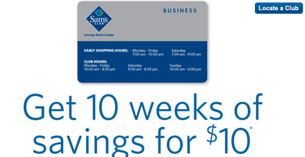 In Celebration Of National Small Business Week Sam S Club Is Offering A Special Deal On Membership 10 For Weeks If You Don T Think Ll Need