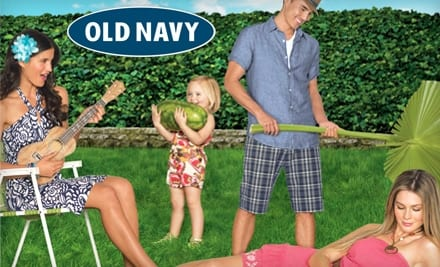 Free Shipping on All Old Navy Orders Today Only