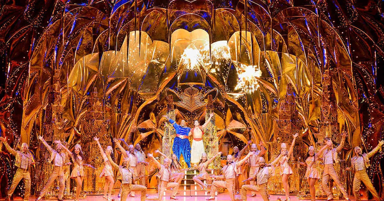 See the Hit Broadway Musical Aladdin for Just $25
