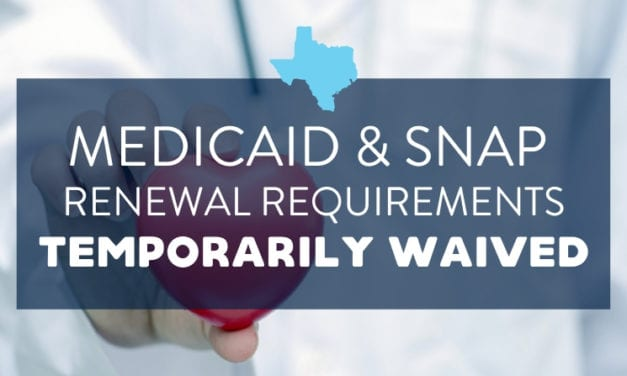 SNAP, Medicaid renewal requirements temporarily waived