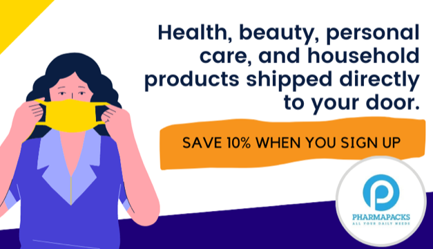 Get All Your Daily Needs Delivered Right to Your Doorstep with Pharmapacks!