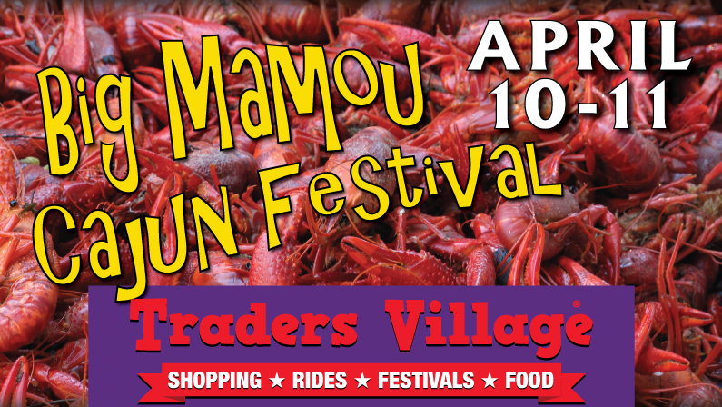 Traders Village Grand Prairie Cajun Fest 2021