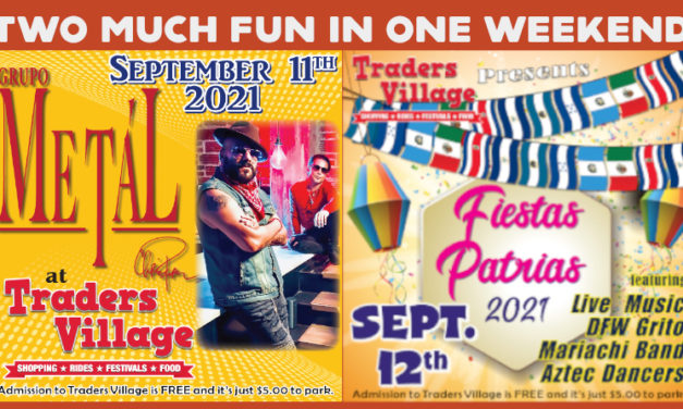 Two much fun in one weekend! Chris Perez & Fiestas Patrias Celebration at Traders Village on September 11, 12